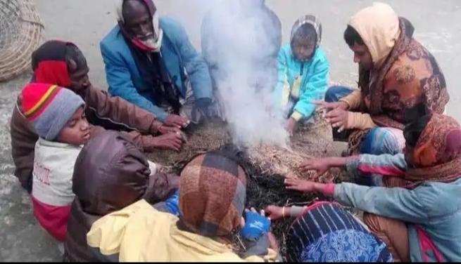 কুড়িগ্রামে তাপমাত্রা ক্রমশ হ্রাস পাচ্ছে