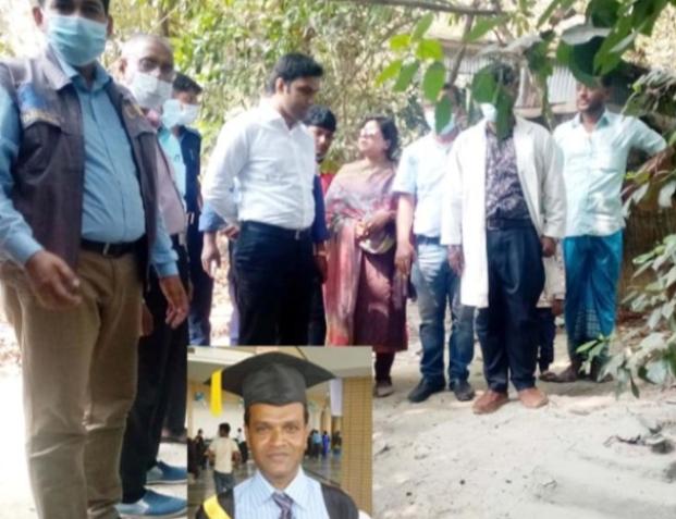উজিরপুরে কলেজ শিক্ষক নিরুহত্যাকান্ড : ২ বছর পর লাশ উত্তোলন