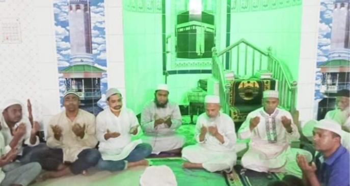 বানারীপাড়ায় ছাত্রলীগের উদ্যোগে শাহান-আরা বেগমের স্মরণে দোয়া-মিলাদ অনুষ্ঠিত