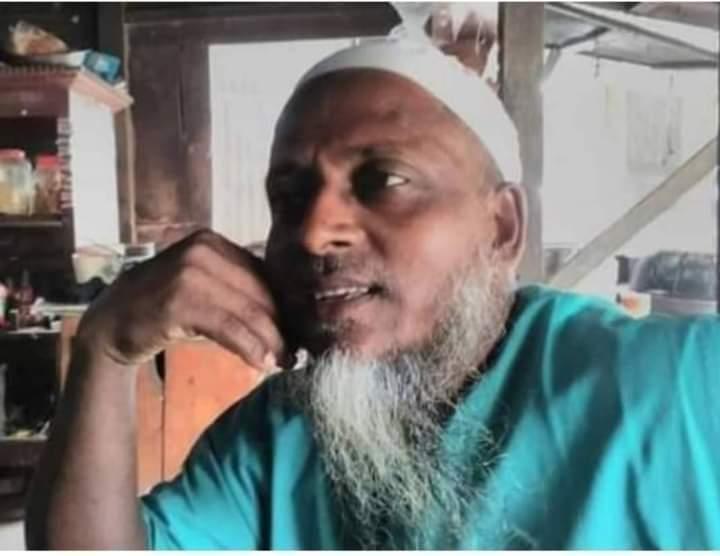 উজিরপুরের গুঠিয়ায় মোটরসাইকেলের ধাক্কায় মসজিদের ইমাম নিহত