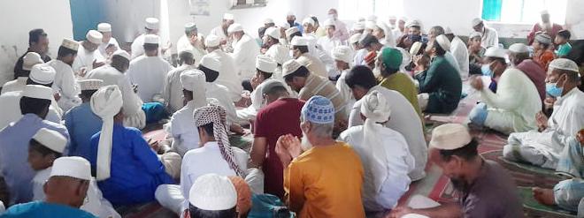 ছড়াকার ও সাংবাদিক নাসির উদ্দীন আল-মামুনের মায়ের কুলখানি অনুষ্ঠিত